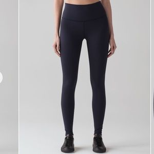 Lululemon Wunder Under HR 7/8 Tight Luxtreme 25""